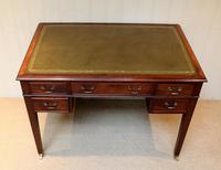 Large Mahogany Writing Desk (4 of 11)