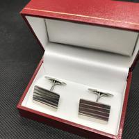 Danish Silver Cufflinks 1950s by Carl Ove Frydensberg (2 of 4)