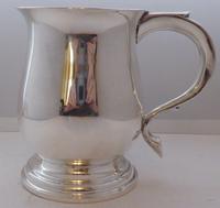 1934 Hallmarked Solid Silver 1/2 Pint Tankard Christening Mug Selfridge & Co (4 of 10)