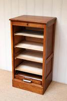 Small Proportioned French Oak Filing Cabinet (6 of 9)