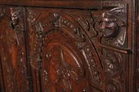 Profusely Carved Oak Cupboard (12 of 15)