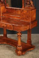 Victorian Figured Walnut Dressing Table (15 of 17)