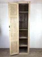 Antique Pine Narrow Food Cupboard (7 of 10)