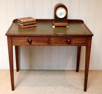 Late 19th Century Mahogany Writing Desk c 1890 (3 of 10)