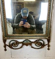 Beautiful Large Green & Gilt Wall Mirror (7 of 9)