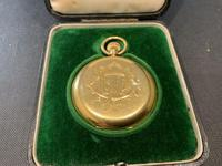 18ct Full Hunter Pocket Watch by Rotherham's of London