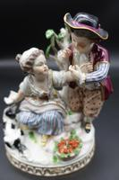 Fine Late 19th Century Meissen Model of Two Young Children & Dog (6 of 6)