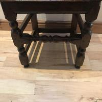 1680's Oak Pegged Chair (2 of 15)