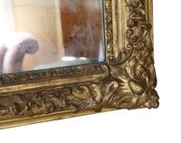 19th Century Large Quality Gilt Wall / Overmantle Mirror (6 of 7)