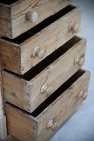 Antique Small Pine Chest of Drawers (5 of 12)