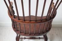 Victorian Scottish Darvel High Comb-backed Windsor Chair, Late 19th Century (29 of 31)