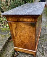Burr walnut Louis Philippe commode (10 of 13)