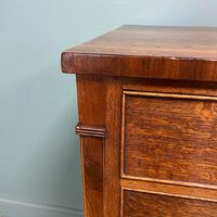 Georgian Oak Country Antique Chest of Drawers (2 of 8)