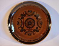 Mid Century Norwegian Pottery Plate - Stavangerflint Sera - Design Inger Waage (2 of 4)