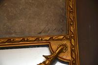 Very Tall Antique Giltwood Mirror with Oil Painting (12 of 12)