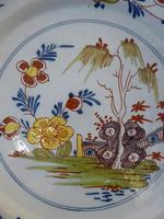 18th Century English Delft Charger (2 of 7)