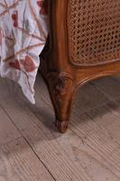 King Size Louis XV Style Caned Bed (2 of 9)