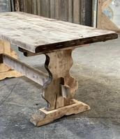 French Bleached Refectory Farmhouse Dining Table (7 of 21)