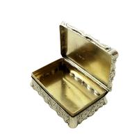 Antique Victorian Sterling Silver Snuff Box 1852 (7 of 11)