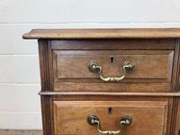 Antique Kneehole Desk (4 of 12)