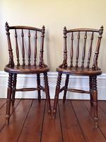 Pair of Antique Thonet Style Bentwood Chairs (3 of 14)