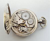 1937 Silver Revue Pocket Watch (5 of 5)