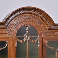 Antique Chinese Chippendale Mahogany Display Cabinet (2 of 13)