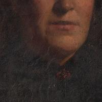 19th-Century French School Portrait Of A Lady, Oil Painting (4 of 7)