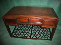 Hong Kong Scholars Desk with Four Long Drawers (2 of 2)