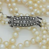 Pearls with Marcasite Clasp (2 of 5)