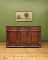 Solid Georgian Style Oak Dresser Base Sideboard by Titchmarsh & Goodwin (2 of 22)