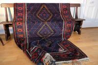 Large Mid 20th Century Afghan Baluchi Rug (3 of 12)