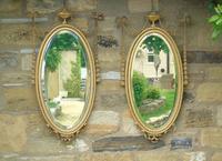Good Pair of Regency Revival Mirrors after Robert Adam (2 of 8)