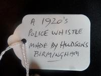 THREE Police Whistles c1920's/30's  being sold seperately. (5 of 7)