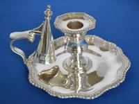 Victorian Silver Chamberstick