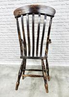C19th Lathback Windsor Armchair (3 of 5)