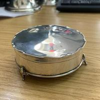1913 Antique Sterling Silver Mappin & Webb Trinket Box (4 of 5)
