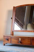 19th Century Inlaid Mahogany Dressing Table Mirror (4 of 23)