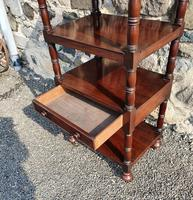 Superb Quality Gillows Mahogany Whatnot (5 of 9)