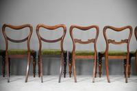 6 Harlequin Victorian Rosewood Dining Chairs (9 of 11)