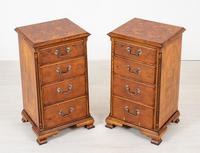 Pair of Yew Wood Oyster Chests (2 of 10)