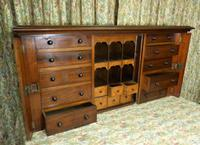 Set of Mahogany Drawers - 10 Large, 6 Small, 6 Small Trays (3 of 10)