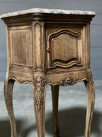 Pair of French Marble Top Bedside Cupboards (24 of 26)