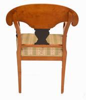 Pair of Biedermeier Armchairs Swedish Satin Birch Furniture c.1910 (9 of 10)