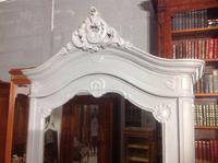 Painted Single Armoire in Plummet Grey (2 of 8)