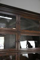 Minty Oak Sectional Glazed Bookcase (4 of 12)