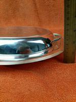 Antique Silver Plate James Dixon & Son Art Deco Serving Dish & Lid C1920 (5 of 10)