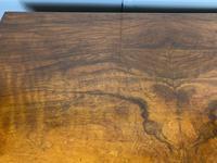 Shaped Walnut Lowboy Hall Table (2 of 11)