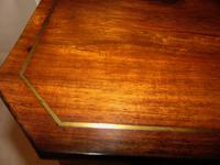 Regency Rosewood & Brass Inlaid Work Table (9 of 9)