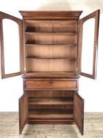 Victorian Mahogany Secretaire Bookcase (4 of 12)
